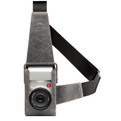 LEICA HOLSTER T Cuir Stone Grey / Gris Pierre