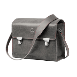 LEICA SAC SYSTEME Cuir Gris Pierre - Taille S