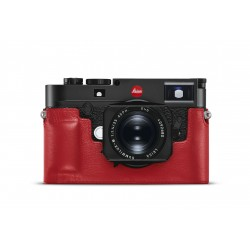 Leica protection cuir rouge M 10