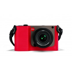 LEICA TL protection cuir rouge