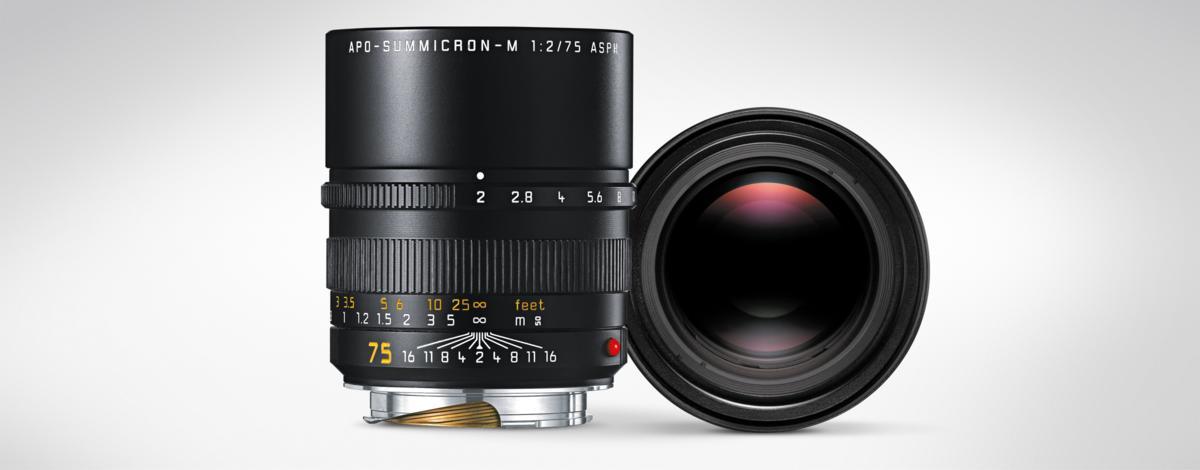 Leica Optique M LEICA APO-SUMMICRON-M 75mm f/2 ASPH.