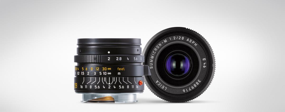 Leica Optique M LEICA SUMMICRON-M 28mm f/2 ASPH.