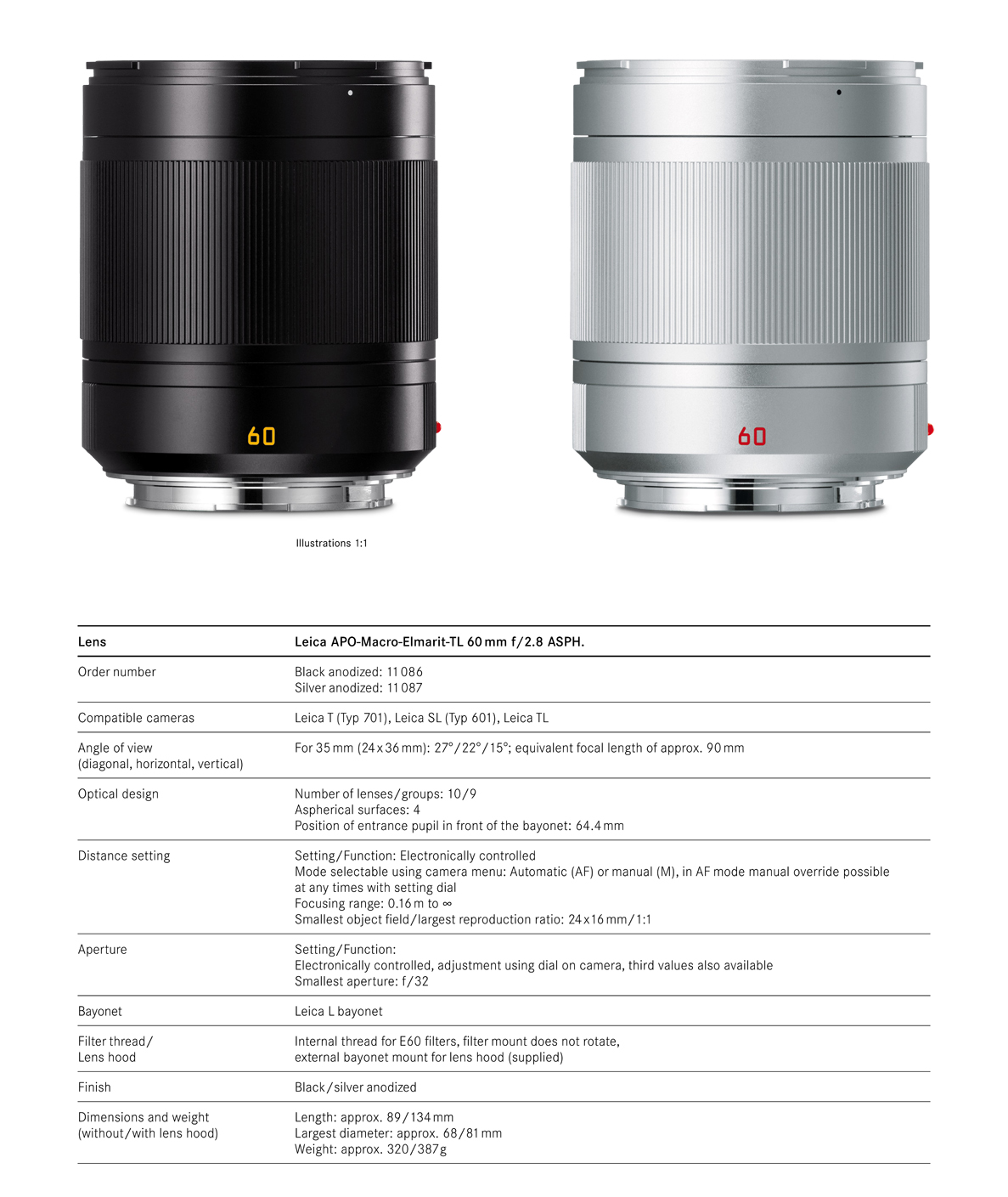 Leica TL 60 ASPH Apo Macro Elmarit