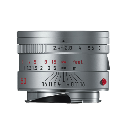 LEICA SUMMARIT-M 50mm f/2.4 Anodise Argent