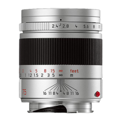 LEICA SUMMARIT-M 75mm f/2.4 Anodise Argent