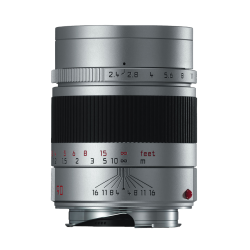 LEICA SUMMARIT-M 90mm f/2.4 Anodisé Argent