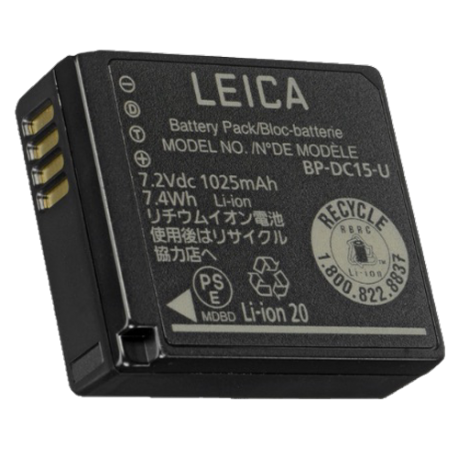 LEICA BATTERIE BP-DC 15 -D-LUX (Type 109)